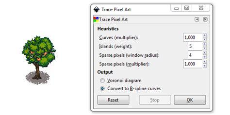 inkscape tutorial pixel art convert pixel art into vector graphics inkscape gimp