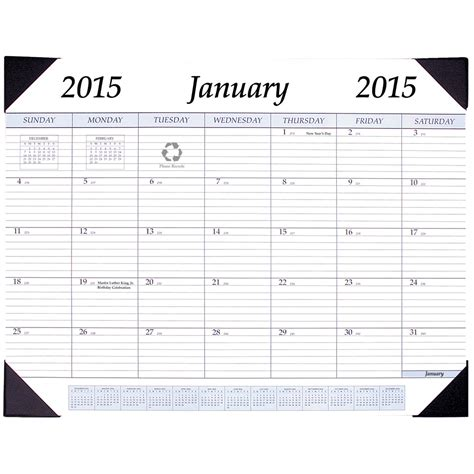 Desktop Calendar 2015 Desktop Calendar In Calendars And Planners