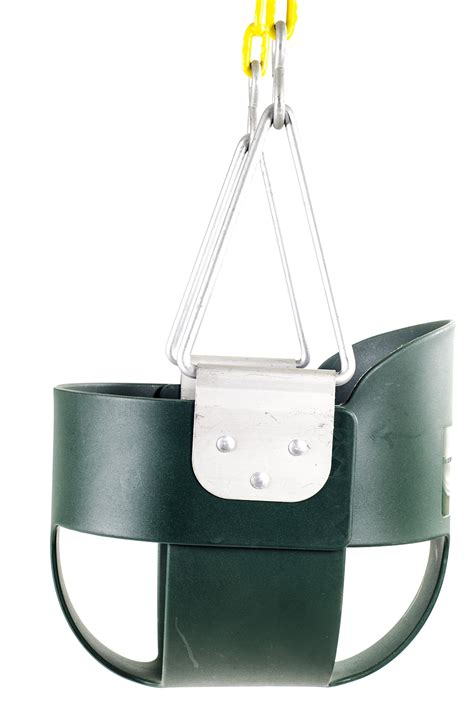 toddler bucket swing with chain save 31 high back full bucket toddler swing seat with