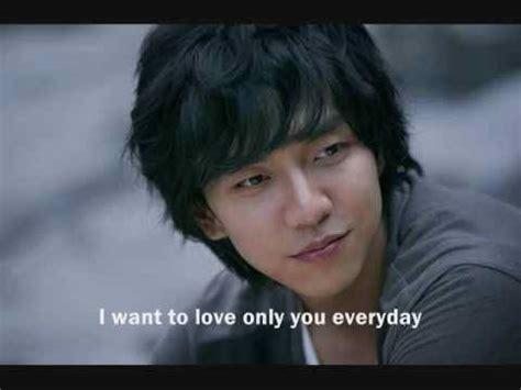 lee seung gi will you marry me lyrics lee seung gi and goodbye eng sub doovi