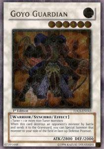 Ultimate Goyo Guardian Tdgs En042 goyo guardian versione 1 ultra carta yugioh the