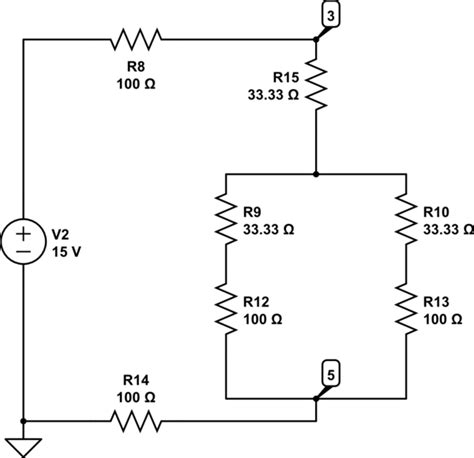 series resistors and voltage division when use voltage divider in circuit analysis electrical engineering stack exchange