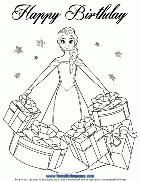 frozen coloring pages elsa ice castle 24 best disney frozen birthday coloring pages images on
