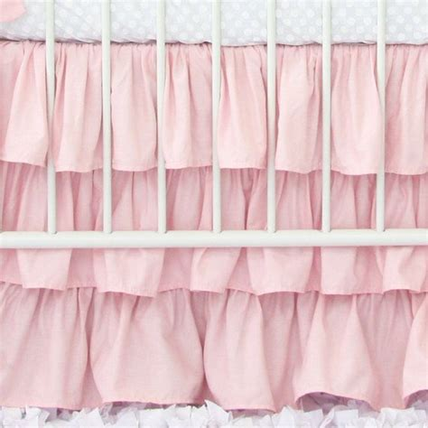 Ruffle Crib Bed Skirt by 1000 Ideas About Ruffled Crib Skirts On Crib