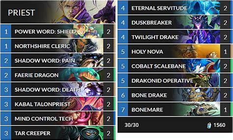 cheap priest deck hearthstone best budget hearthstone decks for the kobolds and