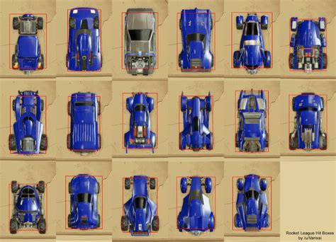 Car Types In Rocket League by Best Rocket League Car Detailed Car Stats Guide To Car
