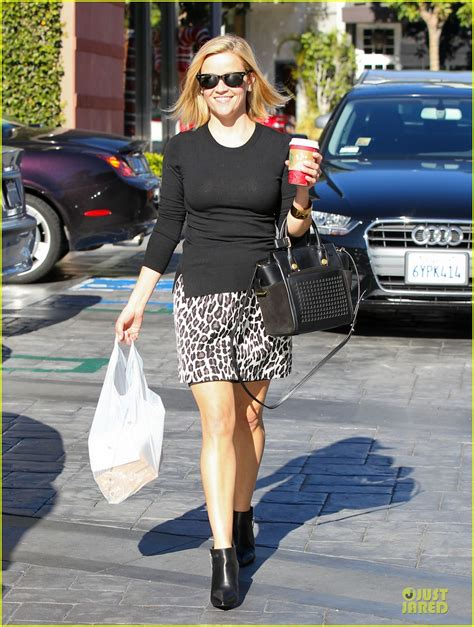Get Leopard Print Flats Like Cameron And Reese by Reese Witherspoon Keeps It With Leopard Print While