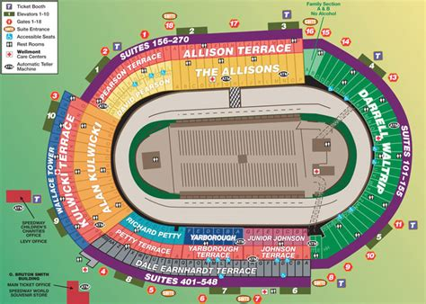 bristol motor speedway packages seating chart tickets