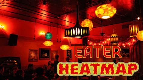 eater heat map the eater bar heatmap where to drink right now eater sf