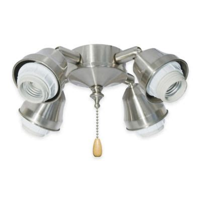 ceiling fan with adjustable lights buy 4 light white ceiling fan from bed bath beyond