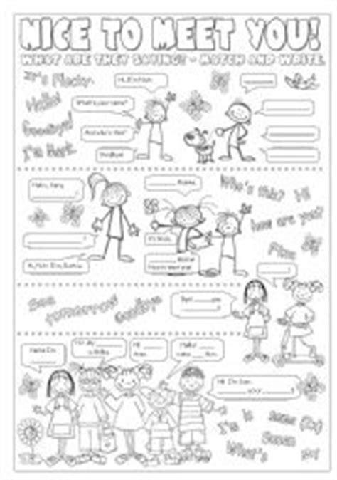 greetings in worksheet teaching worksheets greetings