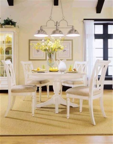 white breakfast table set american drew 920 701r set camden white dining