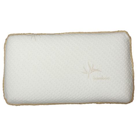 Memory Foam Pillow Smell odor absorbing ventilated memory foam pillow with rayon