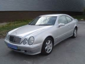 2001 mercedes clk320 coupe