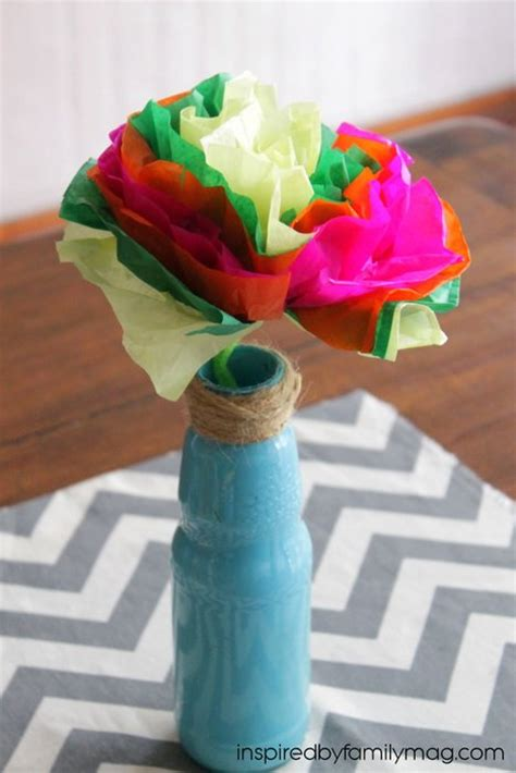 How To Make Mexican Flowers Out Of Tissue Paper - how to make tissue paper flowers