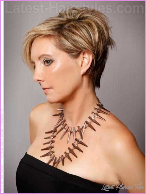 latest hairstyles in short hair womens short hairstyles over 50 latestfashiontips com