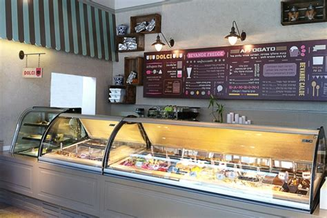 design cafe ice cream afogto caf 233 ice cream parlour by dana shaked beer sheva