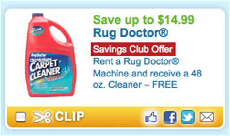 Rent A Rug Doctor Coupon by Do You Need To Clean Your Carpets Save 19 99 On