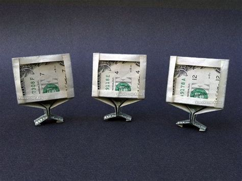Origami Computer - 1000 images about money as gifts folding or not on