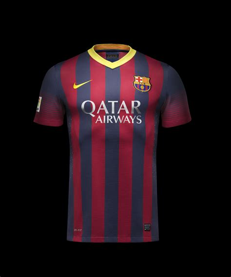 Nike F C Barcelona nike unveils new fc barcelona home and away kits nike news