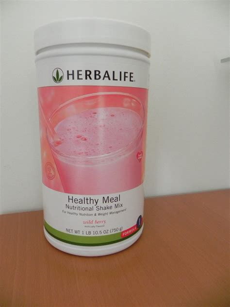 Herbalife Shake F1 Berry herbalife f1 nutritional shake mix berry 750g formula