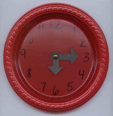 A Paper Clock - clock