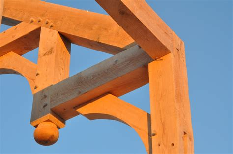 gestell zahnspange post and beam construction building with wood