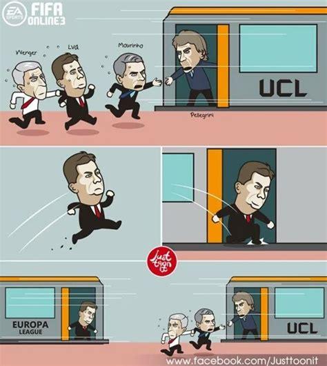 Bahan Meme - tersingkir dari liga chions manchester united jadi