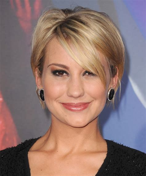 layered hairstyles with bangs and tuck behind the ears short hair cut tucked behind ears with sweeping bangs
