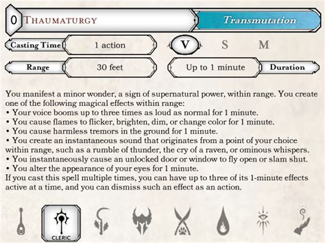 5d spell card template 5e mse2 spell card template