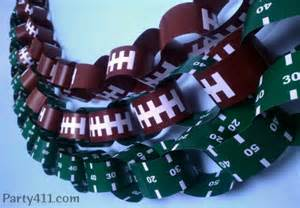 fussball dekoration bowl decoration ideas free football garland daily
