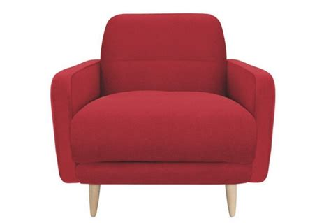 red fabric armchair abel fabric armchair from habitat red absolute home