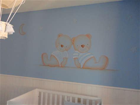 ositos para decorar habitacion bebe mural de ositos para habitaciones de bebe