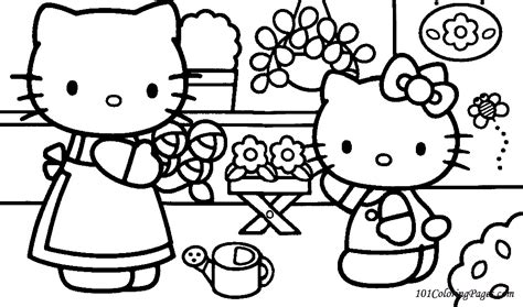hello kitty doctor coloring page hello kitty print outs az coloring pages