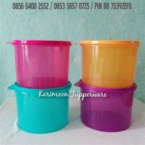 Tupperware Textured Canister aneka lebaran tupperware karimoon tupperware