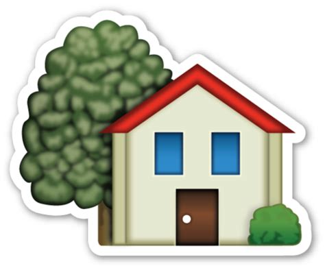 home emoji places