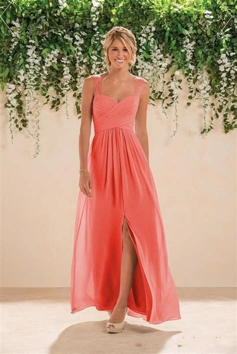 Coral Bridesmaid Dress by Best 25 Coral Bridesmaid Dresses Ideas On