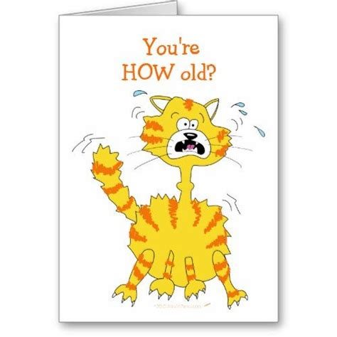 free silly card template happy birthday cards cat happy birthday