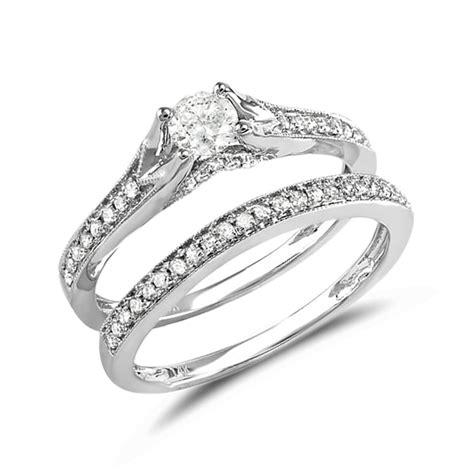 diamant trauring klenota diamant verlobungs und trauring set
