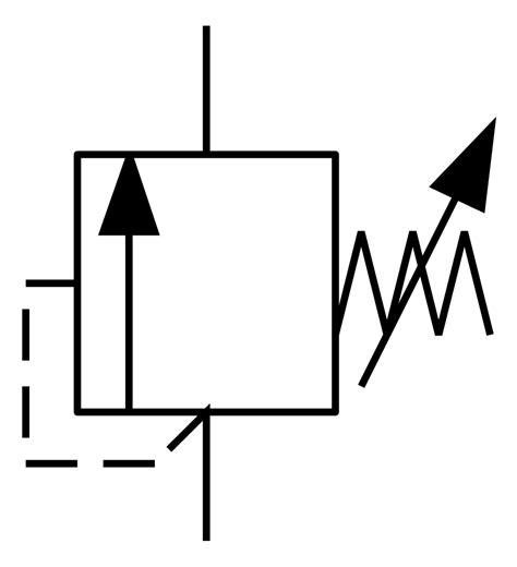 Back Pressure Regulator Symbol
