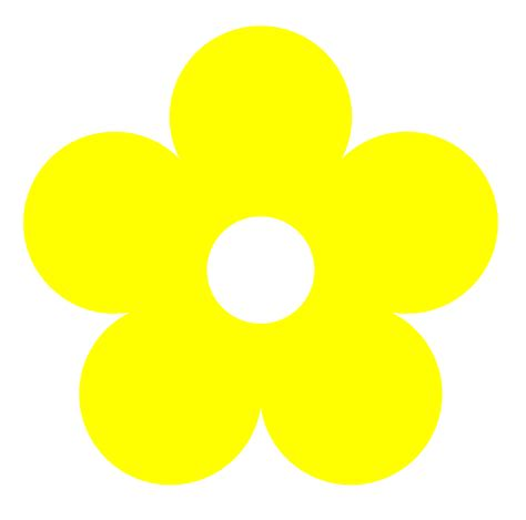 Yellow Flower Clipart Many Interesting Cliparts