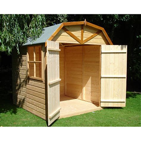 Outdoor Workshop Shed by 7 X 7 Wooden Garden Shed Workshop