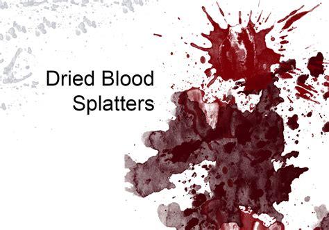 blood splatter brush dried blood splatters free photoshop brushes at brusheezy