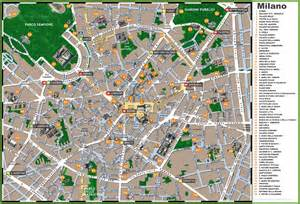 Milan Italy Map by Map Of Milan Italy Attractions Bing Images