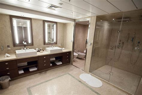best modern bathrooms 6 best cruise ship bathrooms cruise critic