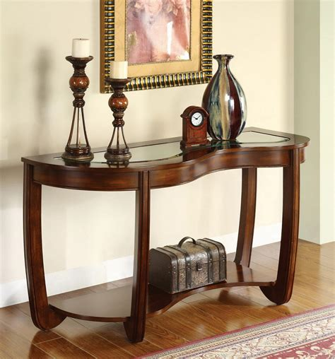 cherry wood sofa table sofa table design dark cherry sofa table amazing design