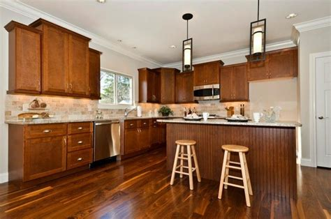 Walnut Kitchen Cabinets by Shaker Walnut Cabinets Contemporary Kitchen Other