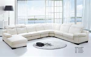 White Leather Corner Sofa China Modern White Leather Corner Sofa Jh 8029 Photos Pictures Made In China