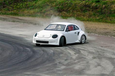 rallycross truck eklund motorsport reveals new vw beetle for fia rallycross