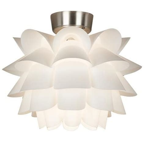 white flower ceiling fan light kit fan light kits style